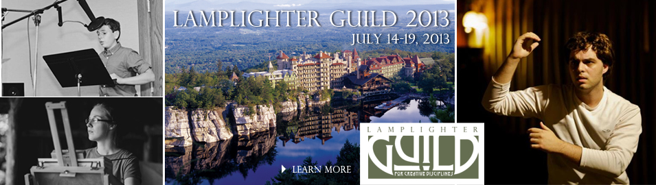 Register for the Lamplighter Guild 2013