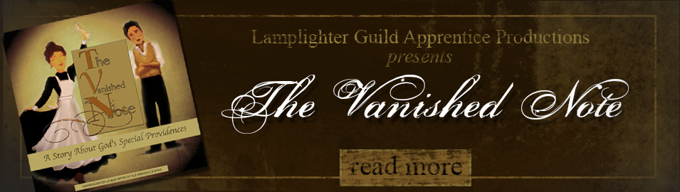 Receive the Vanished Note MP3 free with a gift of any amount