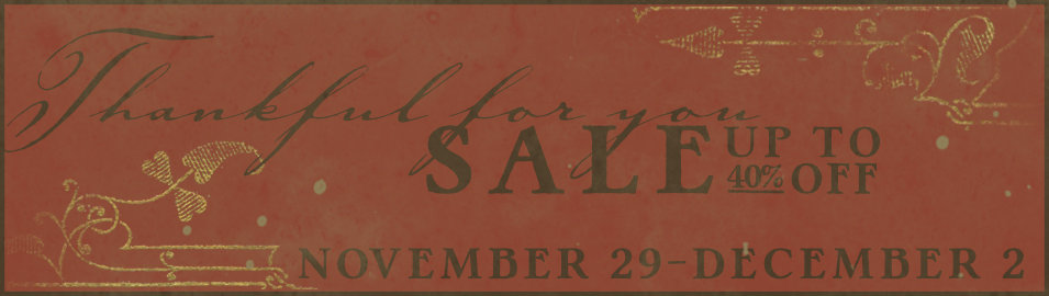 Thankful sale slider